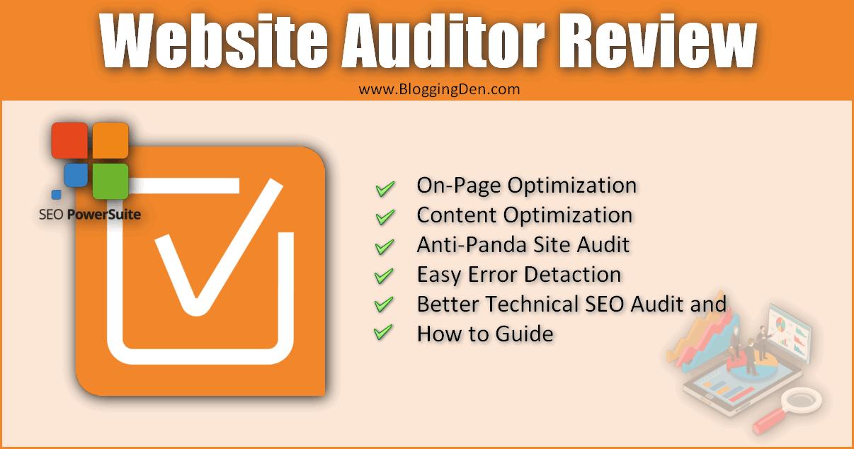 Website auditor review for better site audit