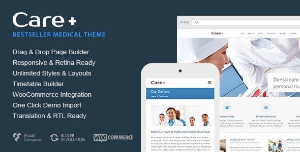 Care WordPress themes