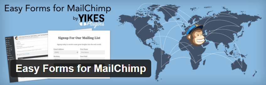 Easy forms for Mailchimp