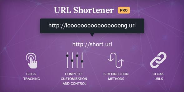 URL Shortner Pro plugin