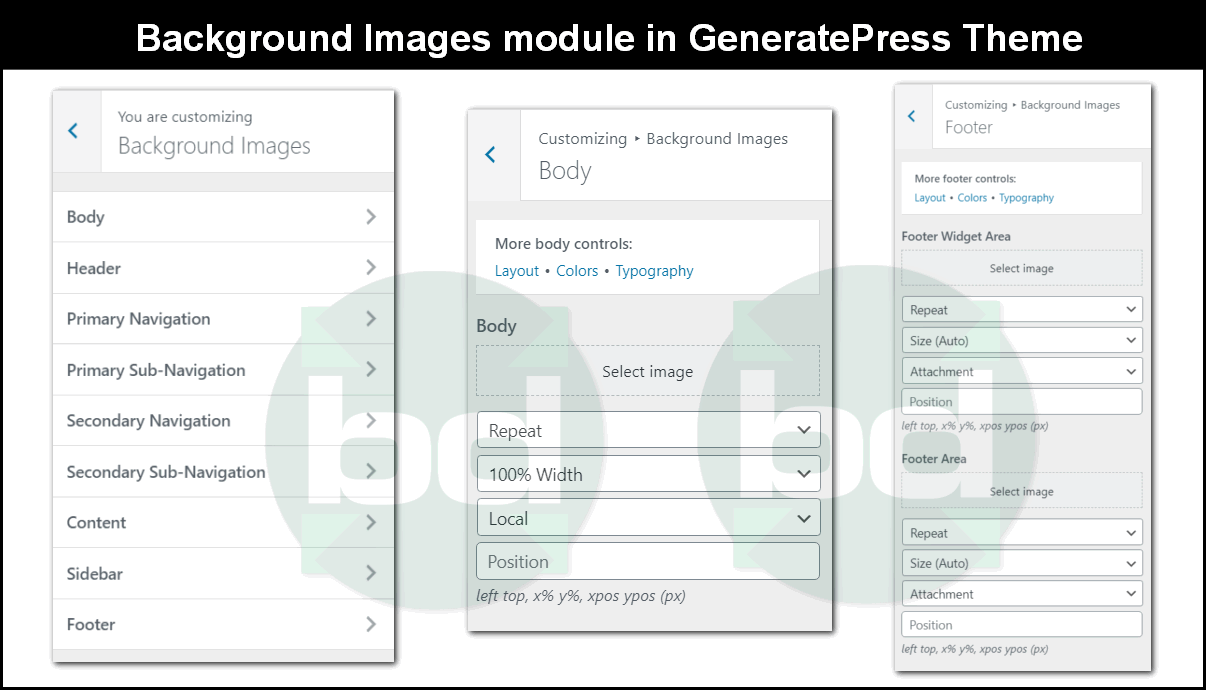background images module