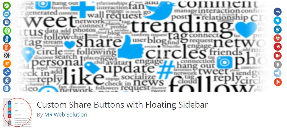 custom share buttons plugin