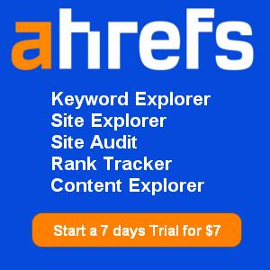 ahrefs trial