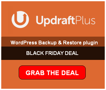 updraft plus black friday deal