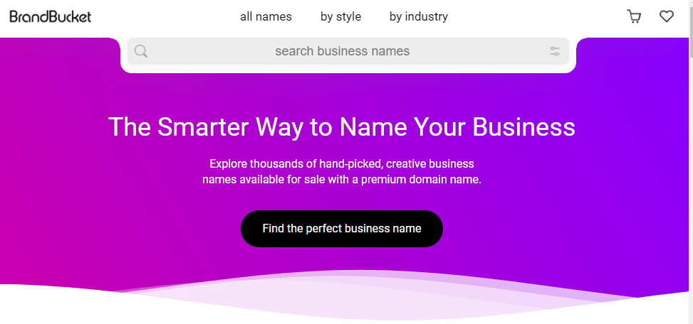 brandbucket to search business names
