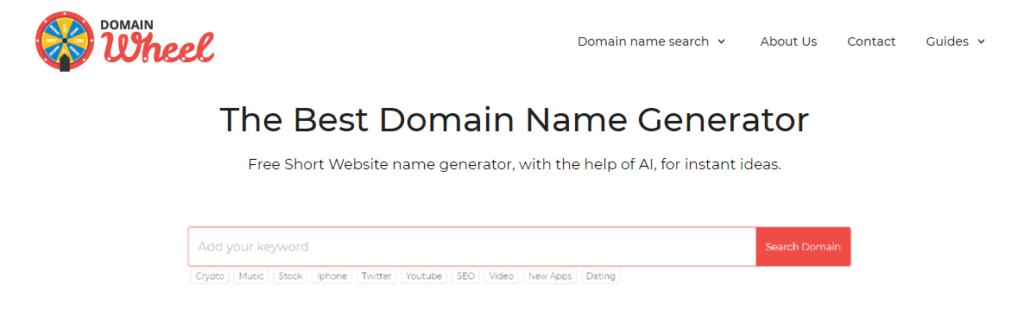 the best domain name generator