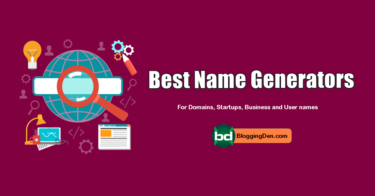 top and Best Name Generators list