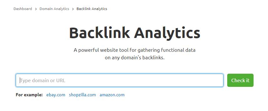 backlink analytics