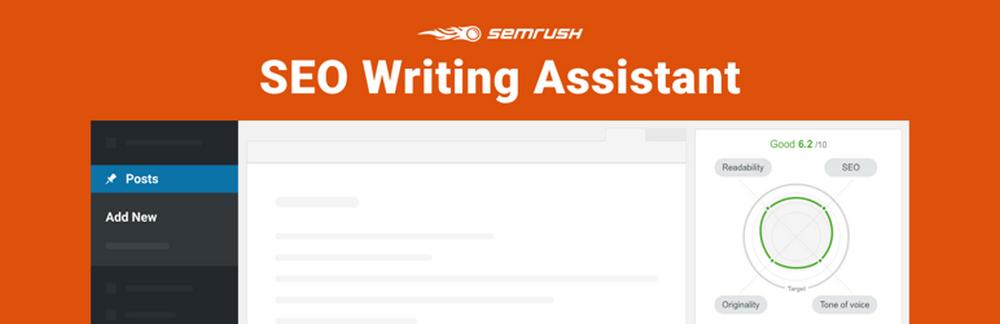 SEMRUSH SEO writing assistant plugin
