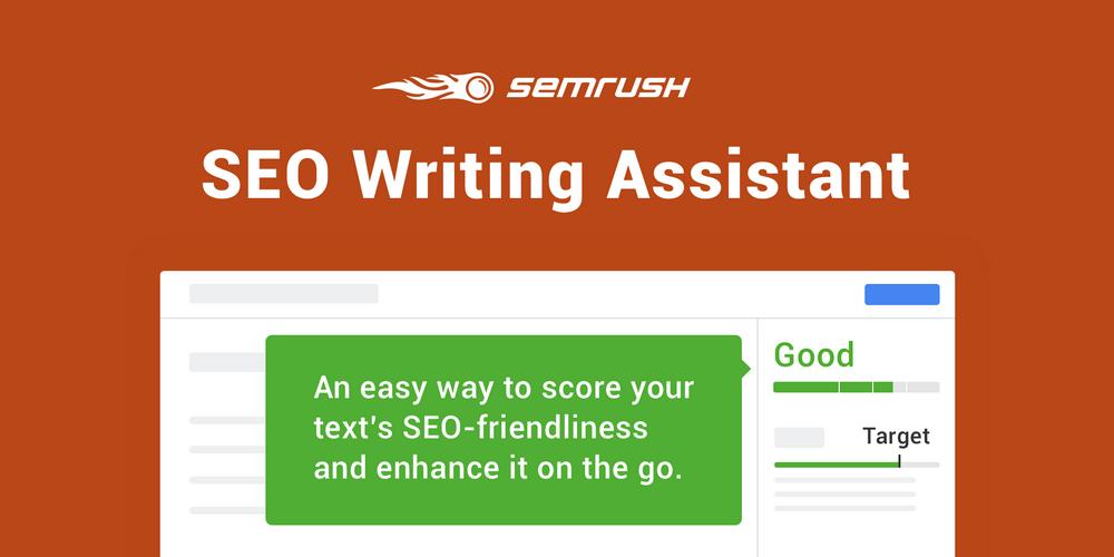 SEMRUSH SEO writing assistant tool
