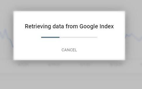 retrieving data from google