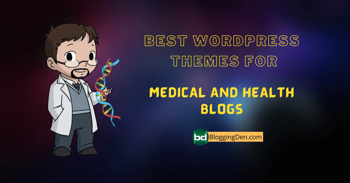 BEST WordPress themes for health and medical blogs