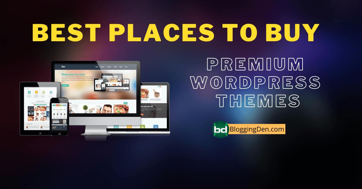 Best Places to Buy premium wordpress themes