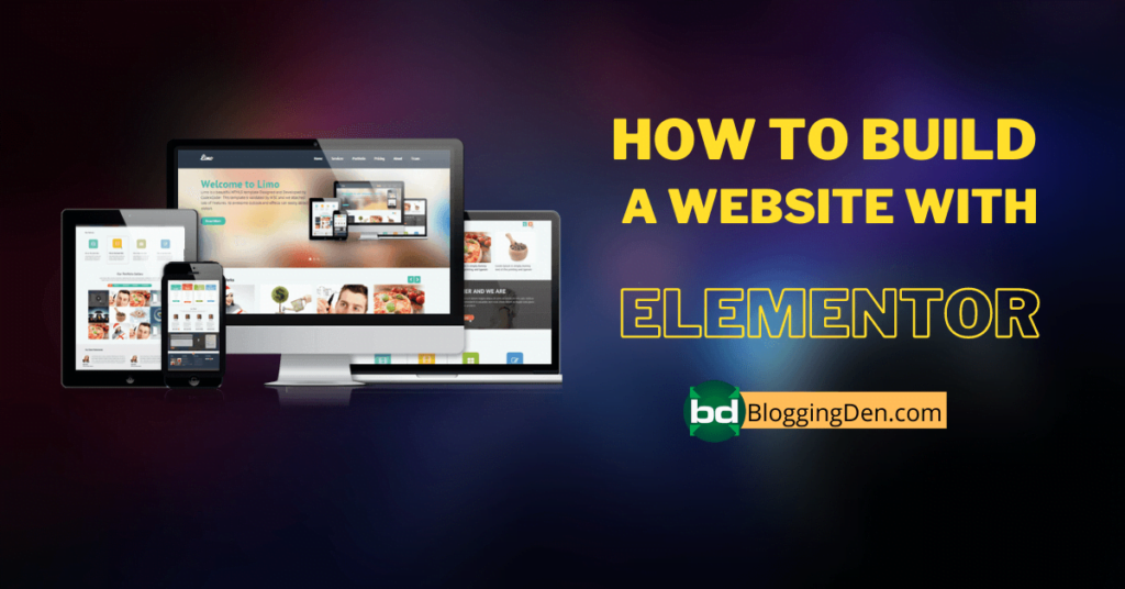 How to Build a Website with elementor?