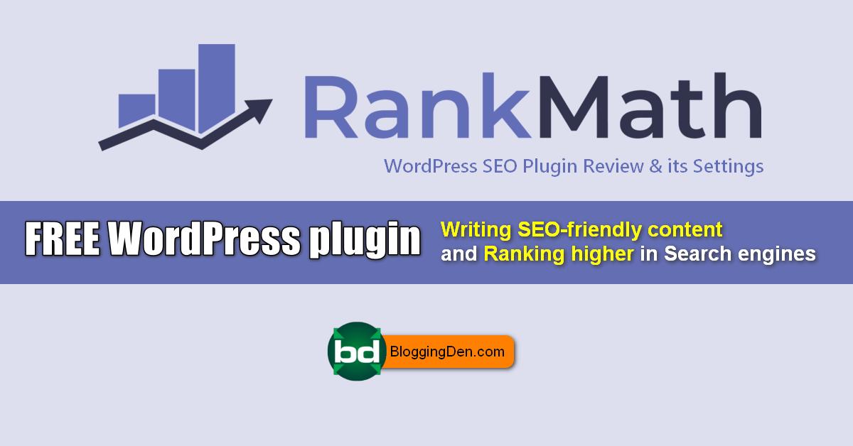 rank math seo plugin review and settings