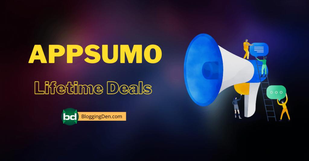 APPSUMO Lifetime deals