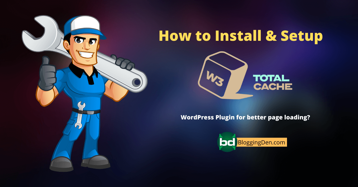 How to Install & Setup W3 total cache plugin 2021